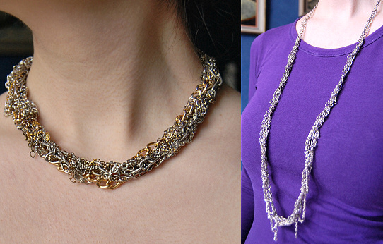 Chain Necklace DIY
