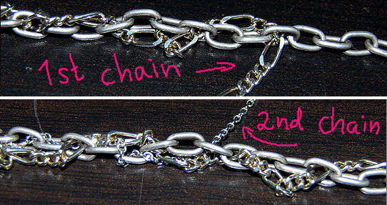 entwining chain