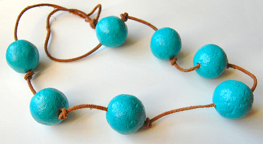 Paper Mache Beads Tutorial