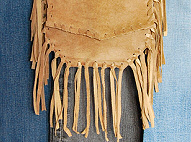 tan fringe shoulder bag