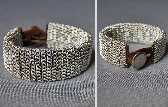 chain wrap bracelet diy