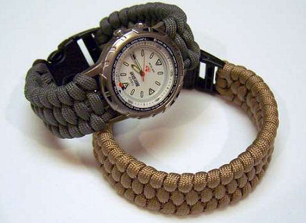 paracord wrist band instructables link