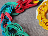 Rubber Band Chain Necklace