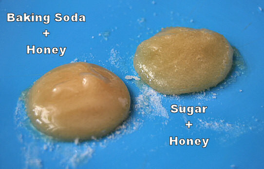 baking soda honey sugar face scrub cleanser