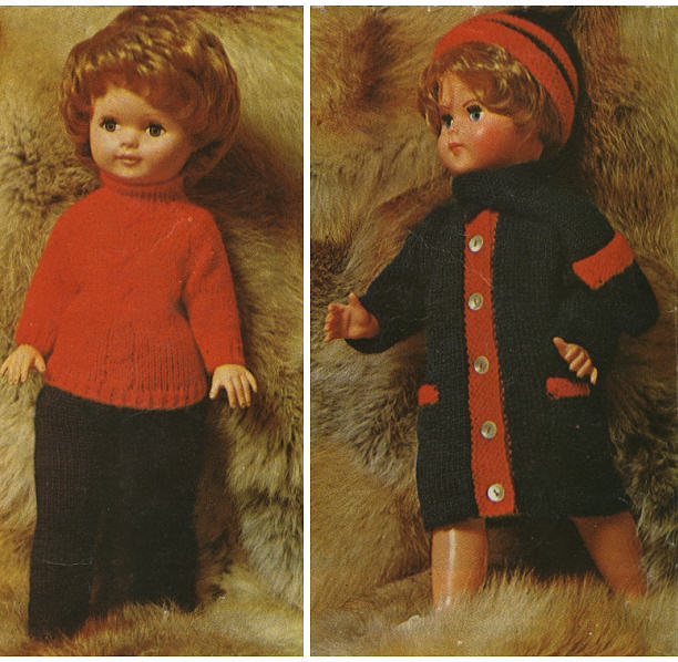 1960s retro toys fifties clothes dolls doll