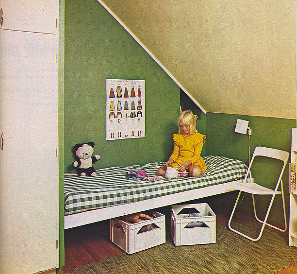 Vintage Kids Room: Vintage Inspiration – 1970's Scandinavian Interiors