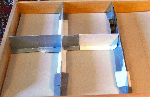 cmpartement dividers how to make your own drawer compartments containers