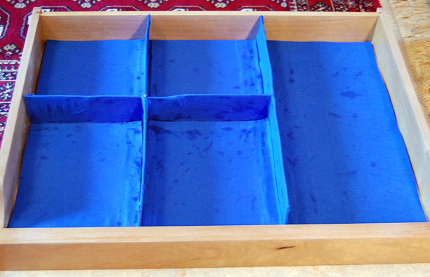 diy drawer compartments container for jewelry and make up