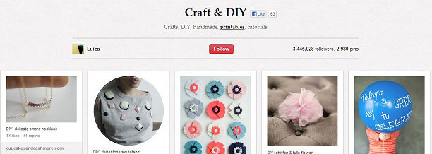 Craft & DIY on Pinterest