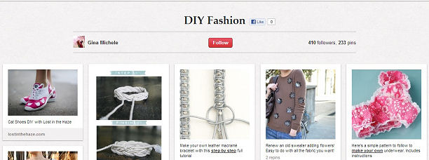 DIY Fashion on Pinterest