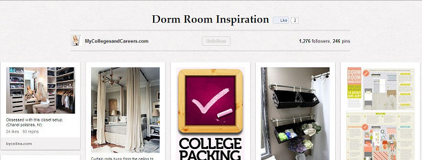 Dorm Room on Pinterest