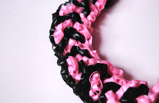 silicone necklace detail