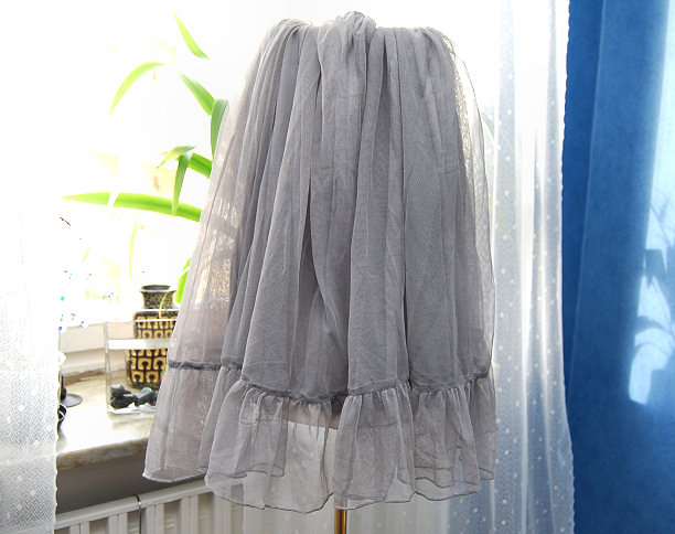 skirt on lamp