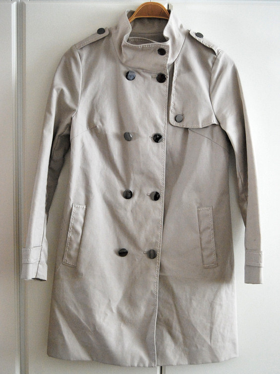 h&h trenchcoat remake diy