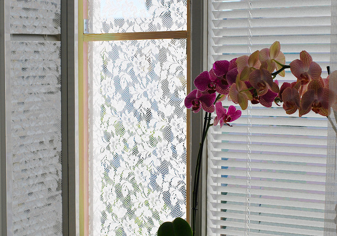 lace curtain flyscreen diy tutorial