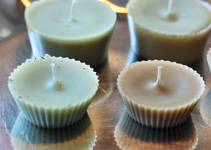 candle diy wax scraps