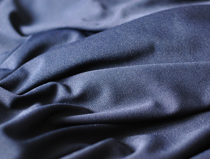 midnight blue rayon