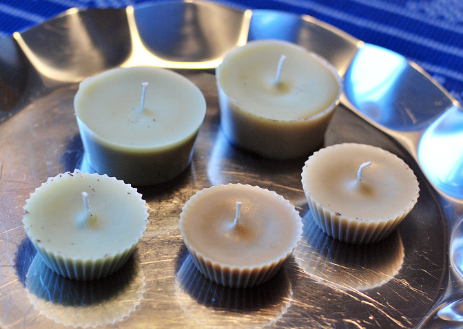 wax scrap candles diy tutorial