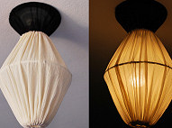 Lantern from 3 Lampshades