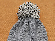 Beanie on Circle Needles