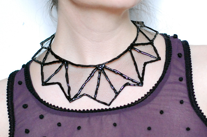 glue gun necklace