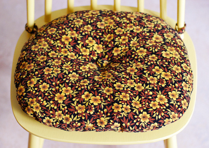 vintage fabric cushion 6