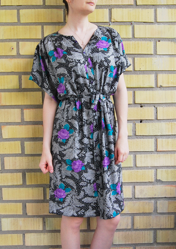 kimono sleeve dress diy full