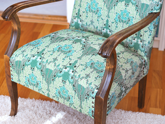 upholstered chair 1