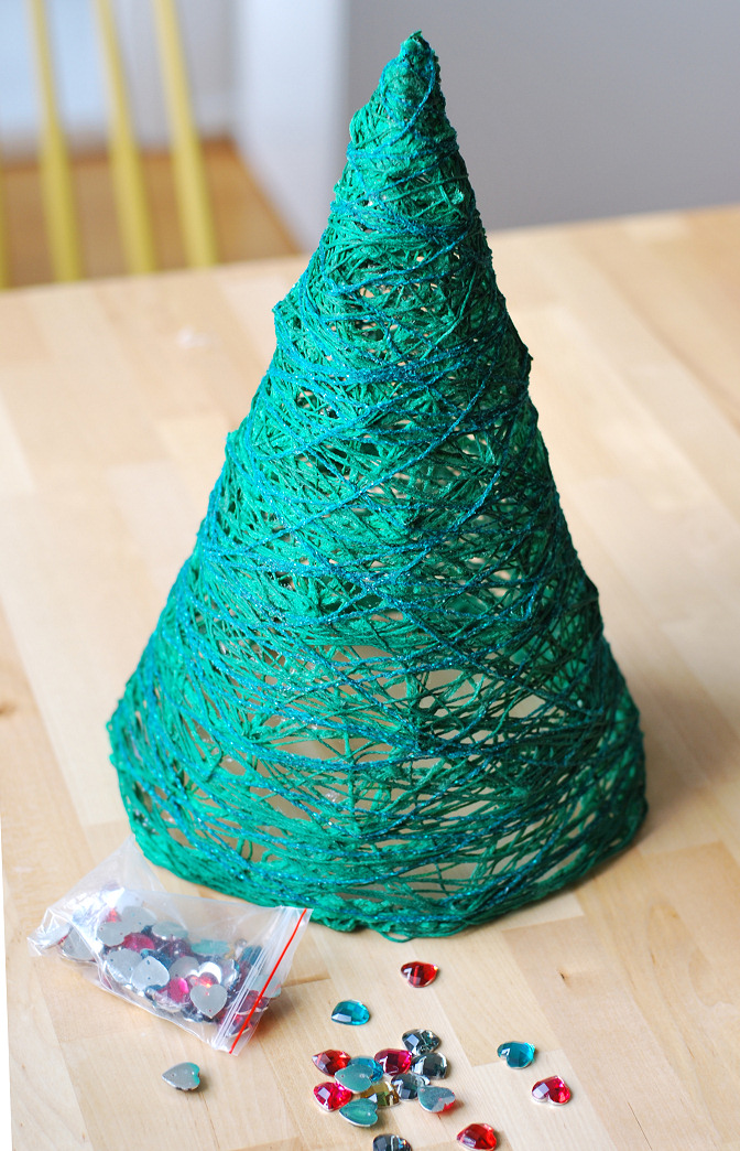 yarn tree diy 8