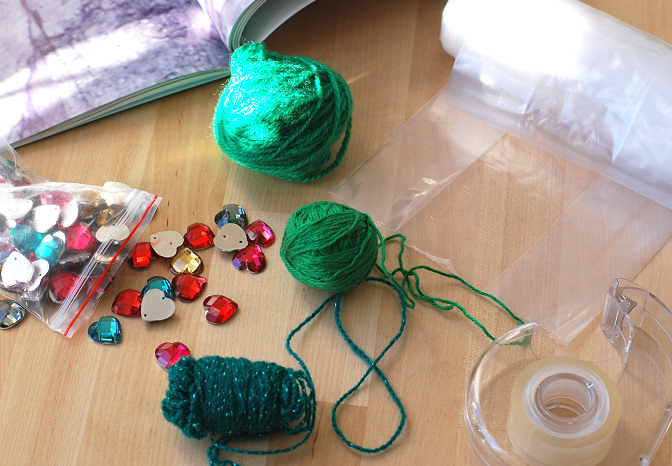 yarn tree diy