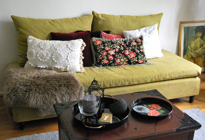 How To Turn A Bed Into A Sofa Rags To Couture
