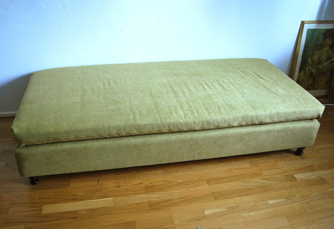 bed to sofa diy