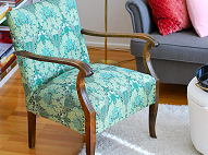 30's Chair Upholster