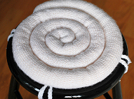 Knitted Seat Cushion