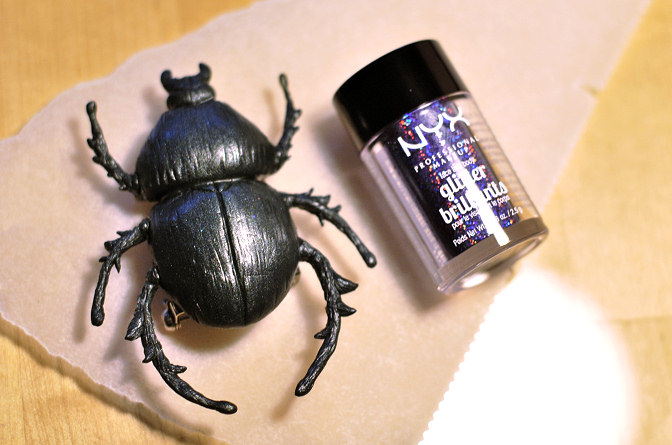 polymer clay beetle brooch diy